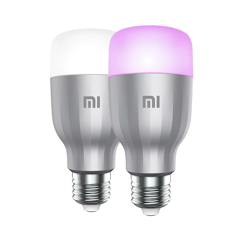 Лампа Xiaomi Mi LED Smart Bulb White and Color 2-Pack